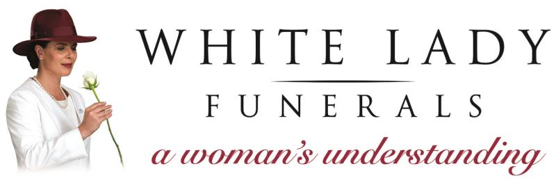 White Lady Funerals Southport Logo